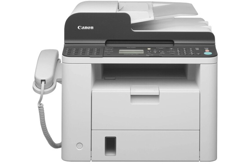 best Canon FAXPHONE L190 Monochrome Laser Fax Machine Duplex Printer