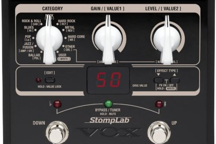 VOX STOMPLAB1G Modeling Guitar Floor Multi-Effects Pedal