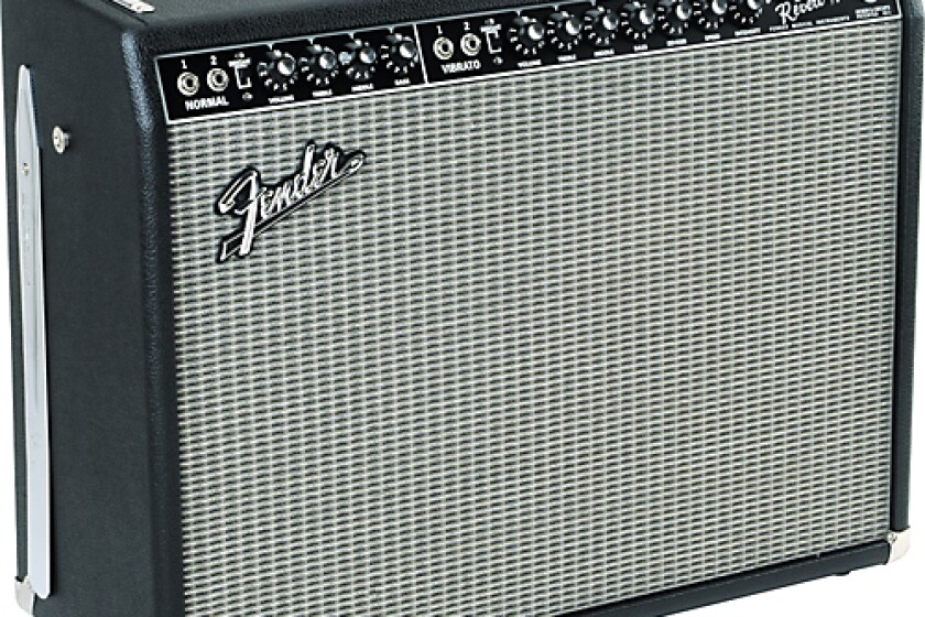 Fender Vintage Reissue Black Reverb Guitar Combo Amplifier