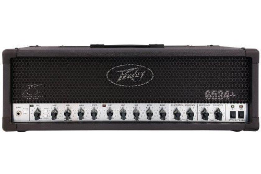 Peavey 6534 Plus 120W Tube Guitar Amp Head Black