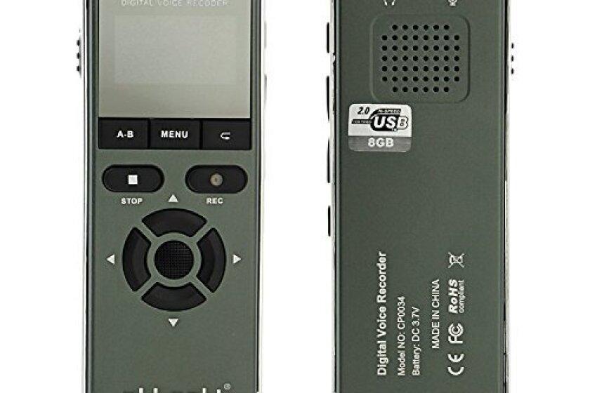 aLLreli CP0038 Digital Voice Recorder