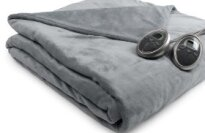 Sunbeam Camelot Retreat Ultra Soft Microfiber Heated Blanket