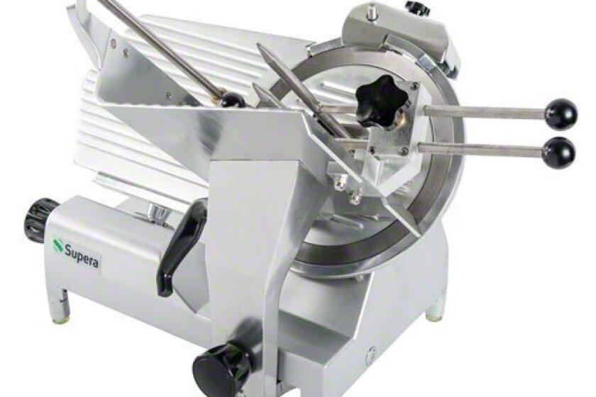 "NEW - Supera (MS-12V) 12"" Semi-Automatic Meat Slicer"