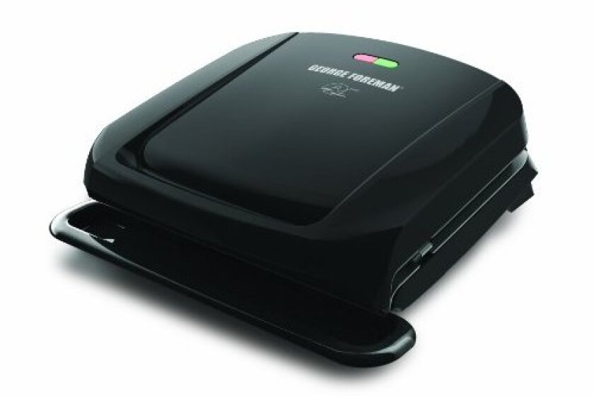 George Foreman GRP1060B 4 Serving Removable Plate Grill