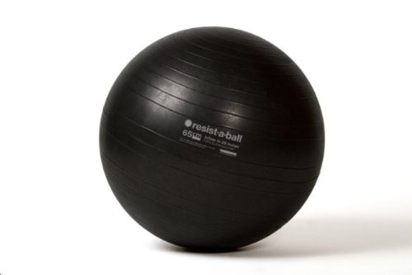 Resist-A-Ball Stability Exercise Ball