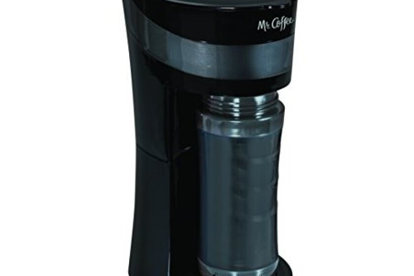 Mr. Coffee Pour! Brew! Go! 16-Ounce Personal Coffee Maker
