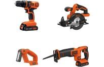 best 4 tool cordless tool combo kit