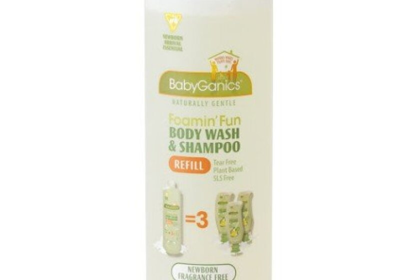 BabyGanics Foaming Shampoo and Body Wash