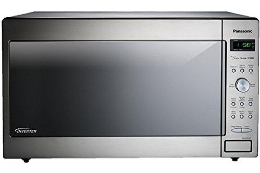 Panasonic NN-SD972-S Stainless Steel, 1250-watt, Built-In Microwave Oven