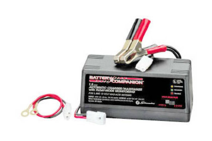 Schumacher Battery Charger/Maintainer - 1.5 Amp, Model SEM-1562A