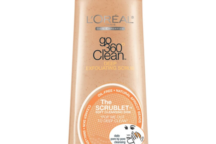 L'Oreal Paris Go 360 Clean, Deep Exfoliating Scrub,Natural Apricot Beads