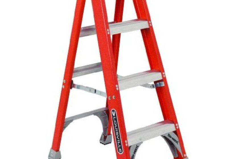Louisville Ladder FS1504 Fiberglass Platform Ladder