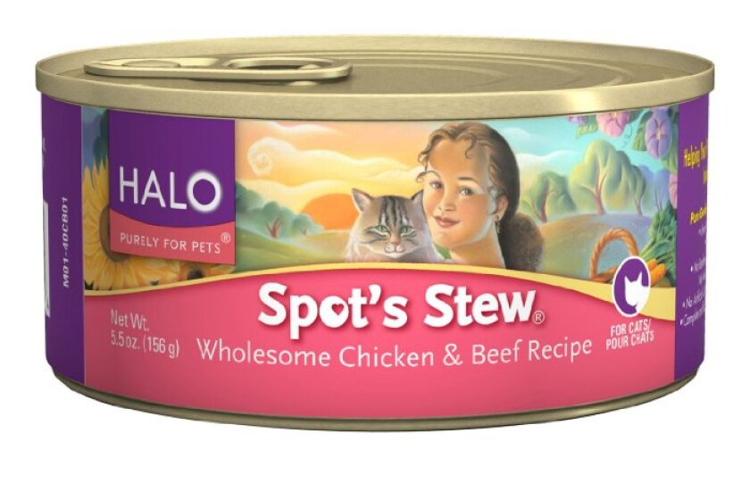 Halo, Purely for Pets, Spot Stew Canned Cat Food