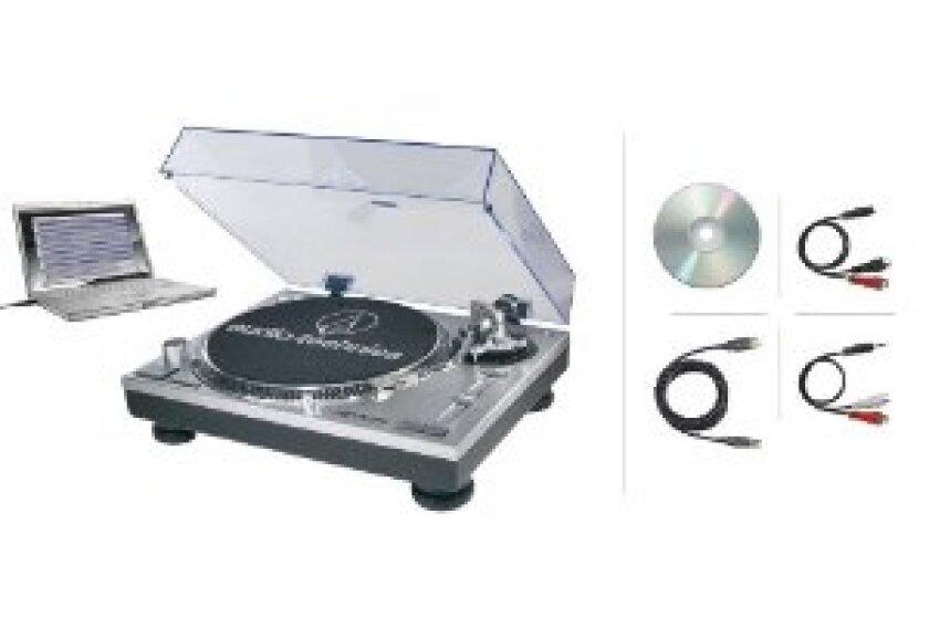 Audio-Technica ATLP120USB Turntable with USB output
