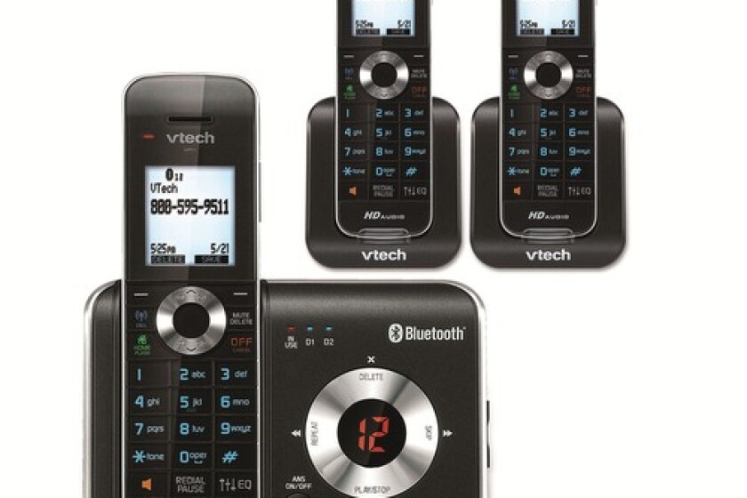 VTech 3 Handset Connect to Cell™ Answering System