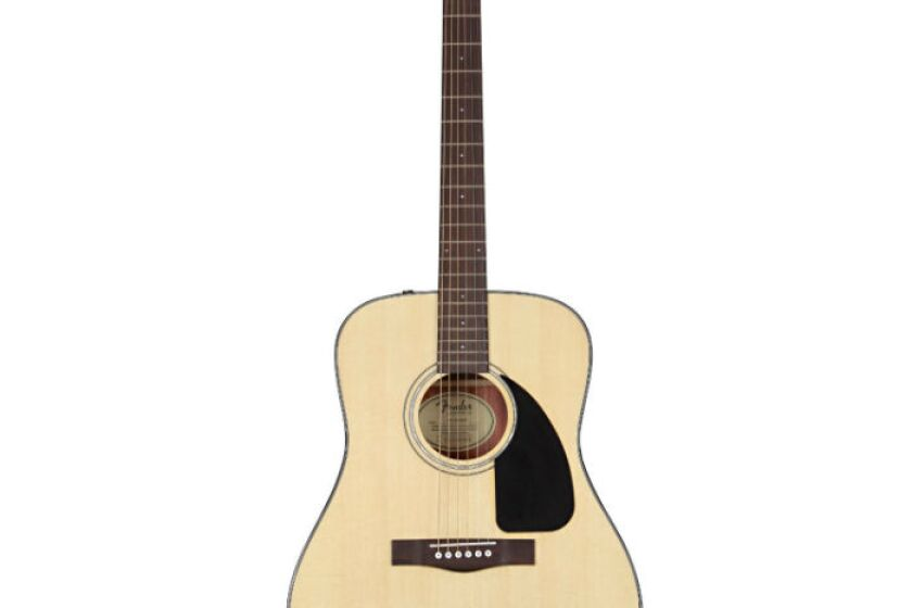Fender CD-60 Classic Design Acoustic Guitar with Case