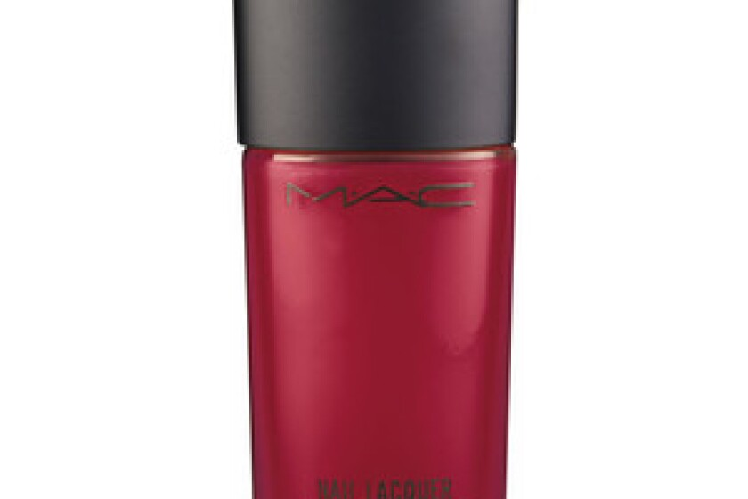 M.A.C Cosmetics Nail Lacquer in Rougemarie