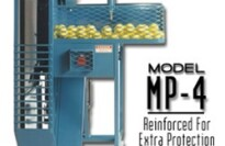 Iron Mike MP4 Hopper Fed Pitching Machine