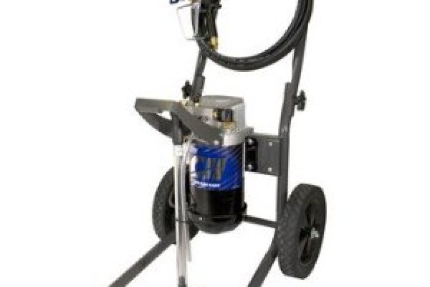 Campbell Hausfeld PS261C 0.34 GPM Airless Sprayer with Quadraflow Spray Gun