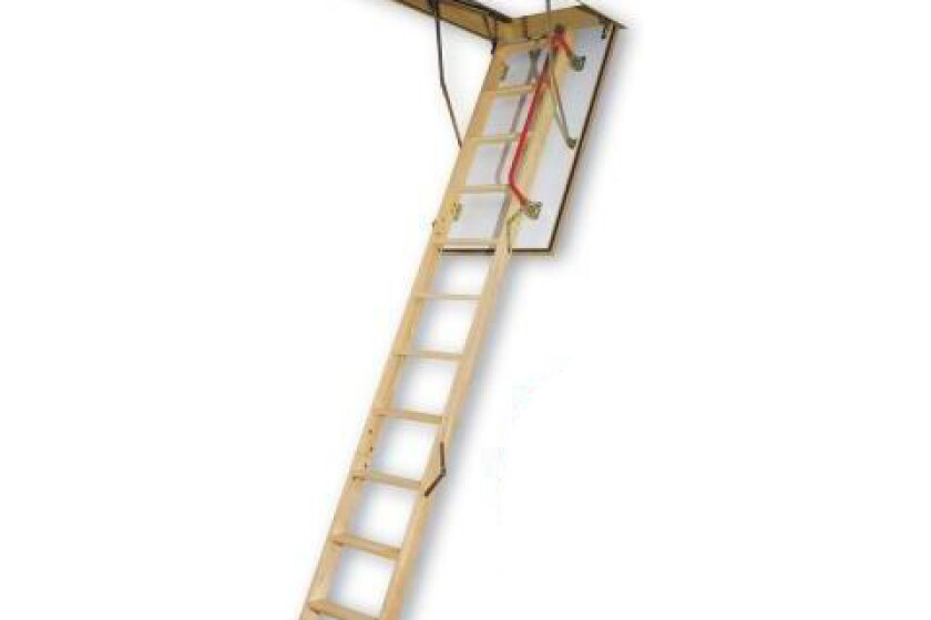 Fakro Ladder Fire Rated Insulated Wood Attic Ladder