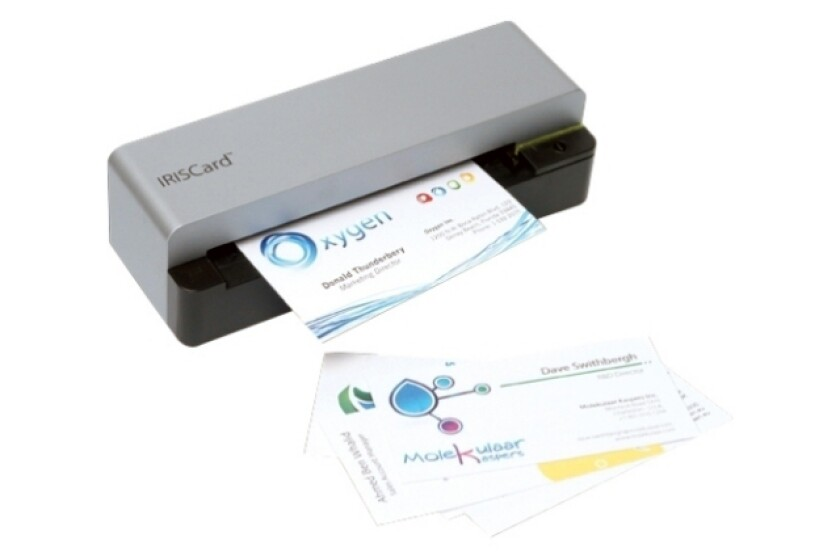 IRISCard Anywhere 5 Card Scanner