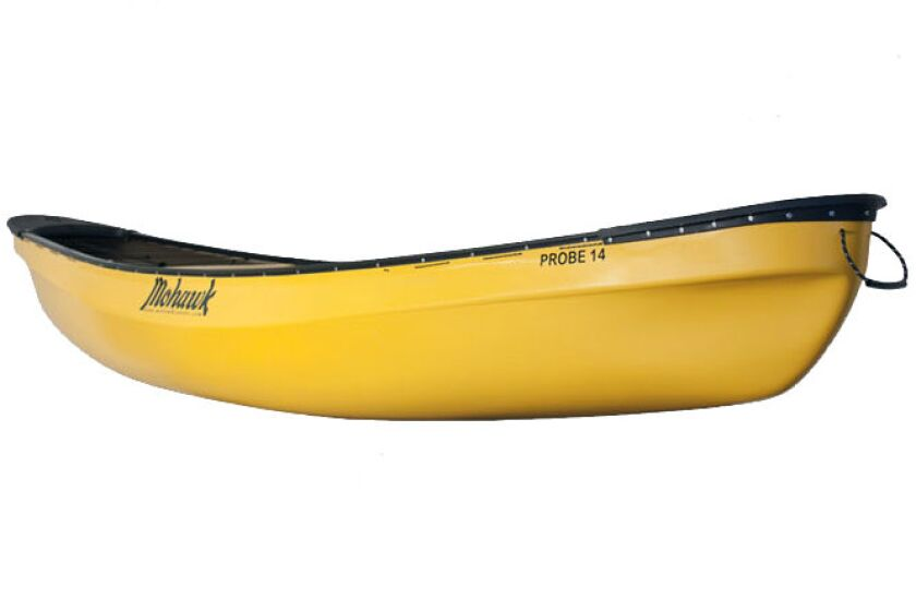 Probe Whitewater Canoe by Mohawk Canoes