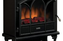 Duraflame Large Stove Heater, Black, DFS-750-1