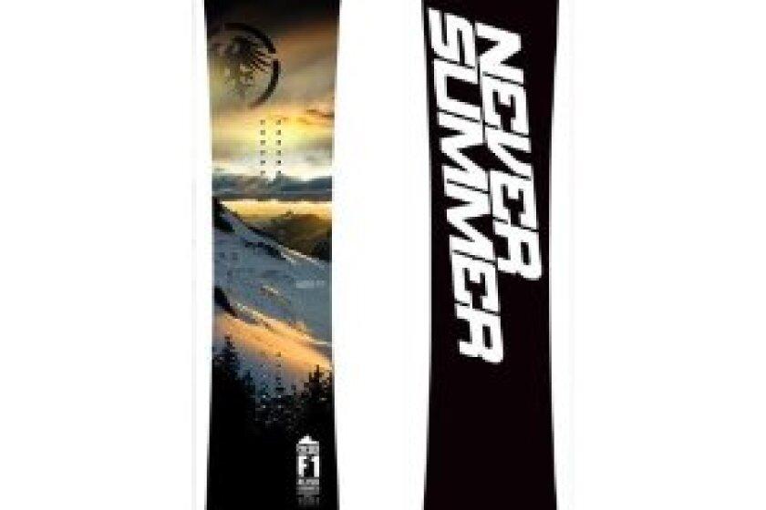 Never Summer Premier F1 Snowboard