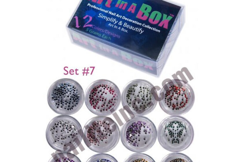 Nailite Art In A Box Rockin' Rhinestones