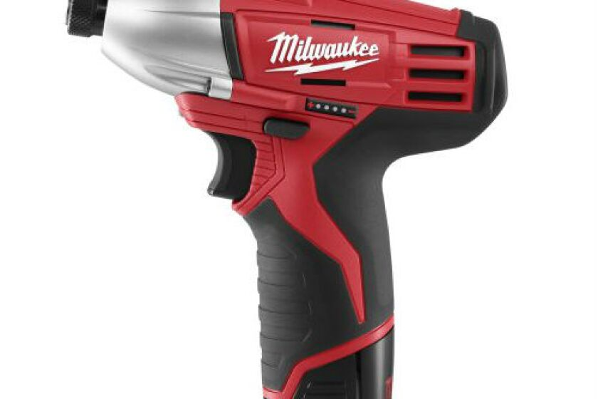 "Milwaukee M12 2450-22 1/4"" Hex Impact Driver"