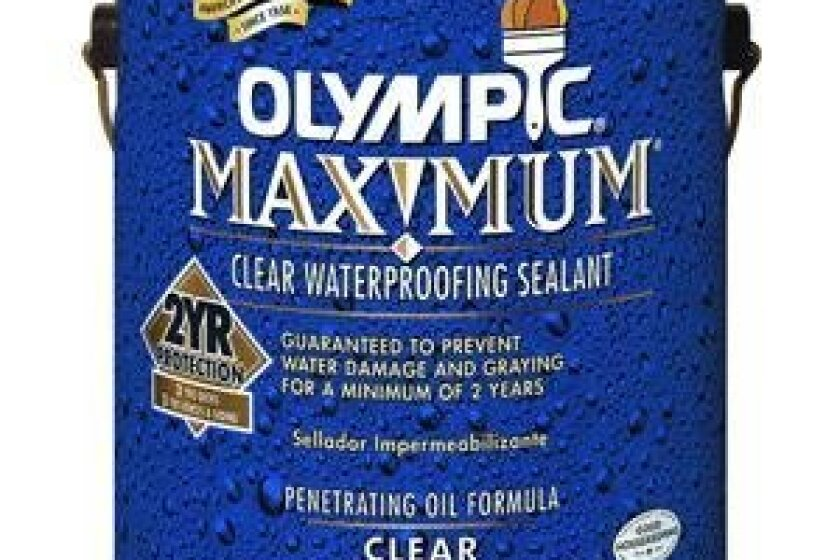 Olympic 56400A/01 Maximum clear Waterproofing Sealant