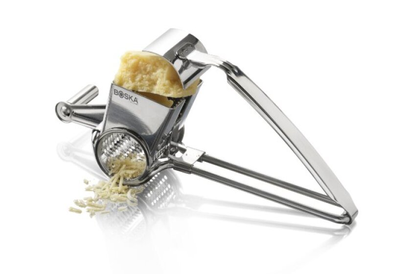 Boska Holland Monaco Collection Romano Stainless Steel Rotary Cheese Grater