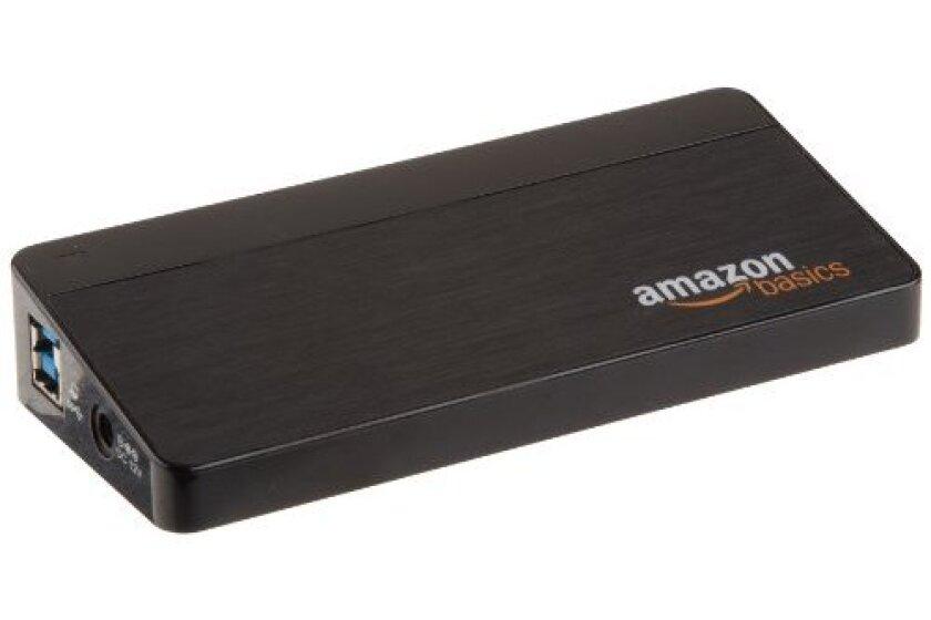 AmazonBasics 7-Port USB 3.0 Hub with 12V/3A Power Adapter