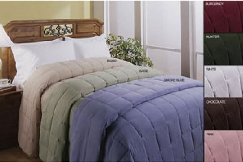 Blue Ridge Home Fashions Microfiber Down Blanket