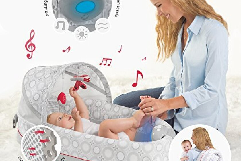Lulyboo Baby Lounge Lights and Music