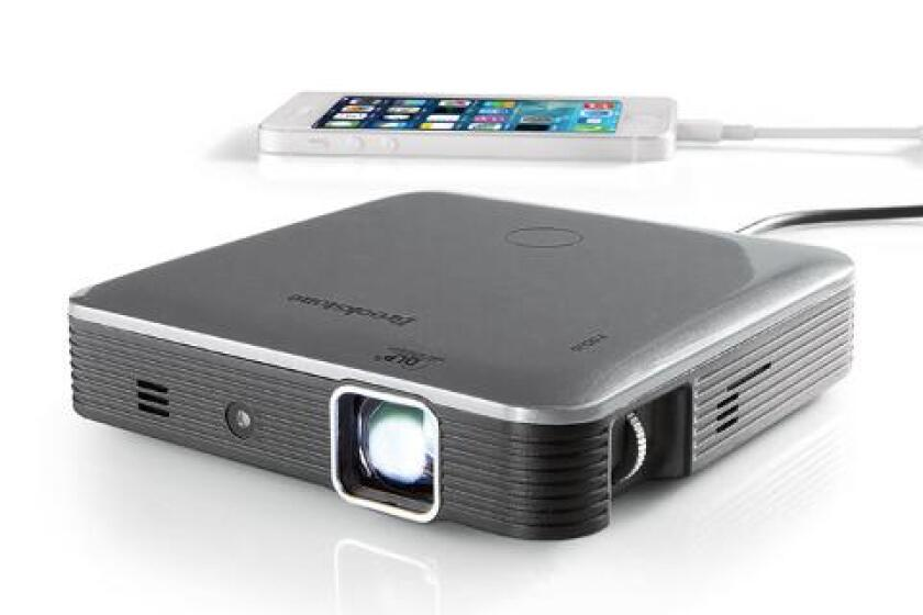 Brookstone Pocket Projector ProGCo200 Lumens