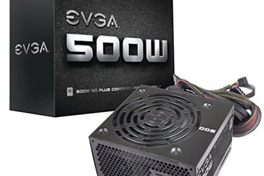 EVGA 500 W1 80+ Continuous PowerCertified Power Supply
