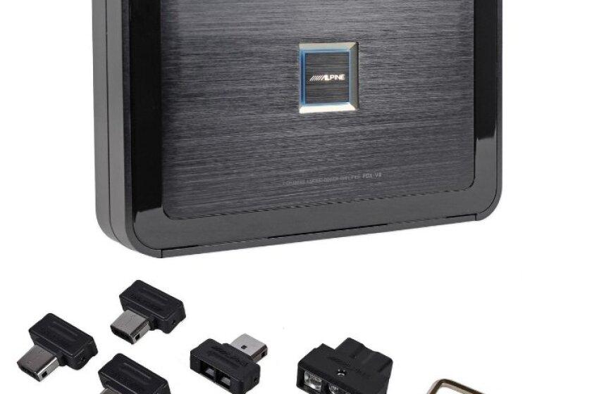 """Alpine PDX-V9 5-Channel 900 Watt RMS Class """"D"""" Amplifier"""
