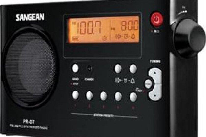 Sangean PR-D7 FM/AM Compact Digital Tuning Portable Radio Receiver