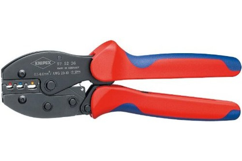 KNIPEX 97 52 36 3-Position Contact Crimping Pliers