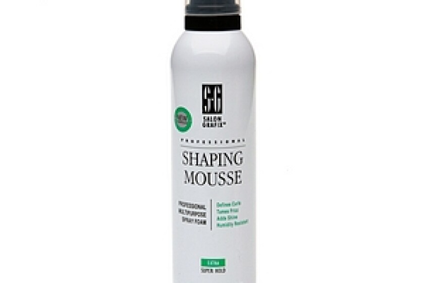 Salon Grafix Shaping Mousse Unscented Super Hold