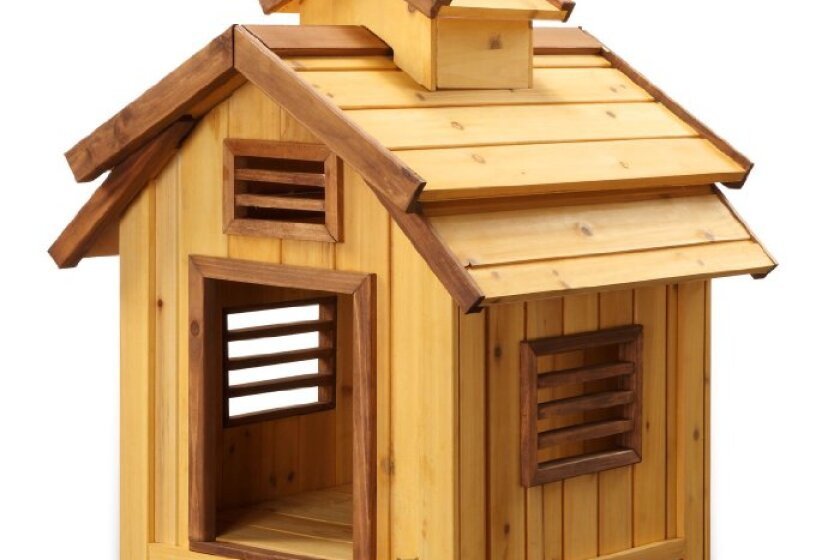 Pet Squeak Bird Dog House