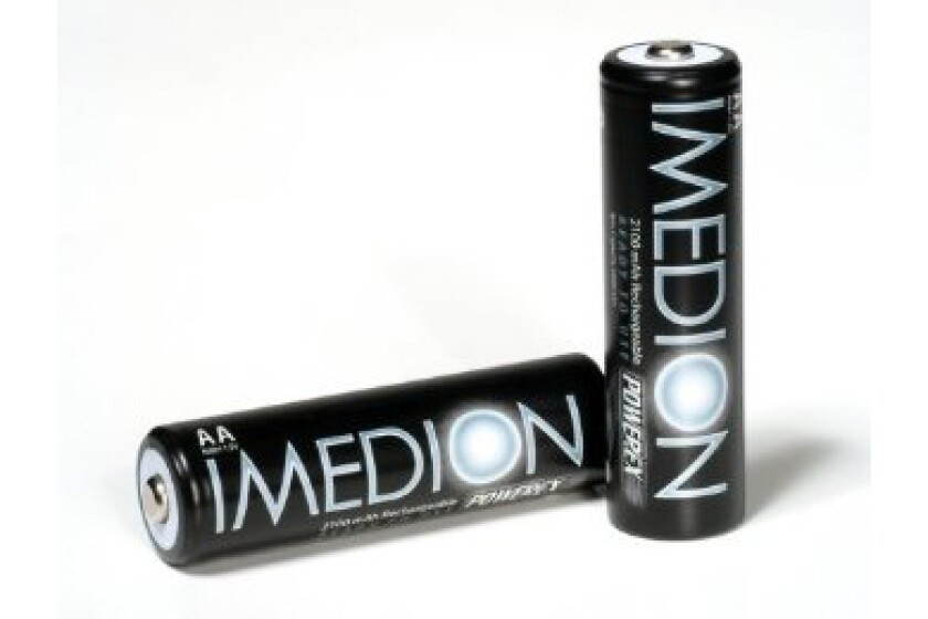 Powerex Imedion NiMH Rechargeable Batteries