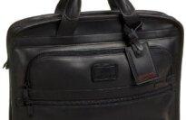 Tumi Alpha Slim Deluxe Leather Briefcase