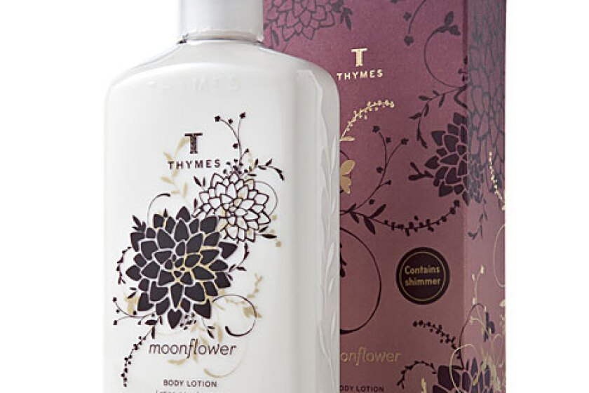 Thymes Moonflower Body Lotion with Shimmer