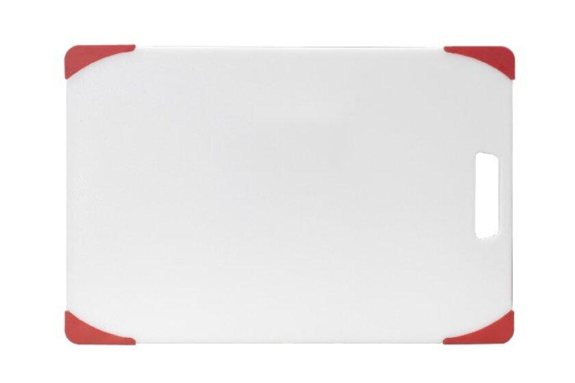 Farberware Polypropylene 12-Inch by 18-Inch Nonslip Cutting Board