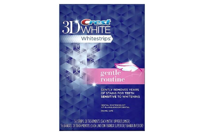 best Crest 3D White Gentle Routine Whitening Strips, 28-Count Carton
