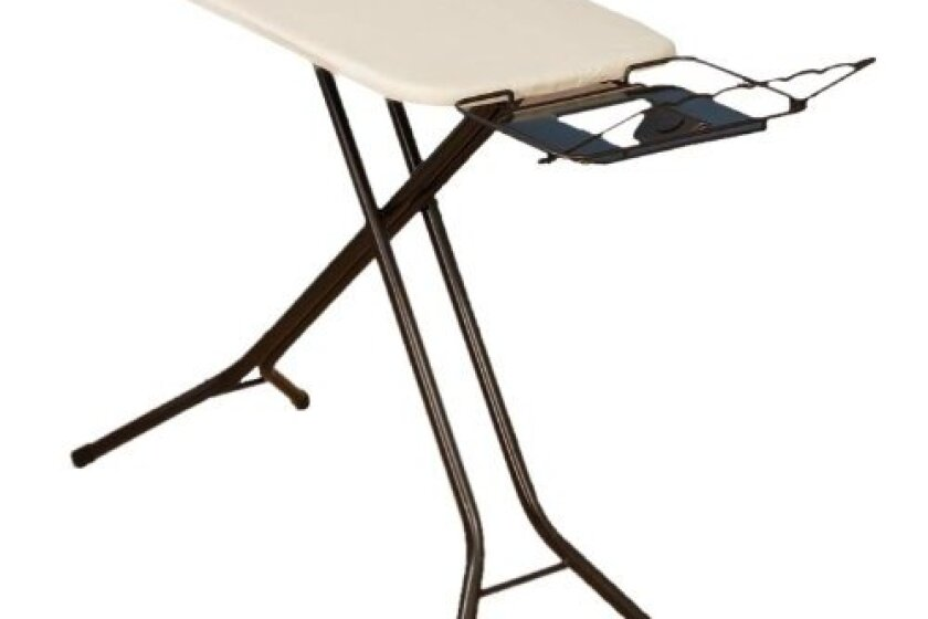 Household Essentials Fibertech Mega Wide 4-Leg Ironing Board