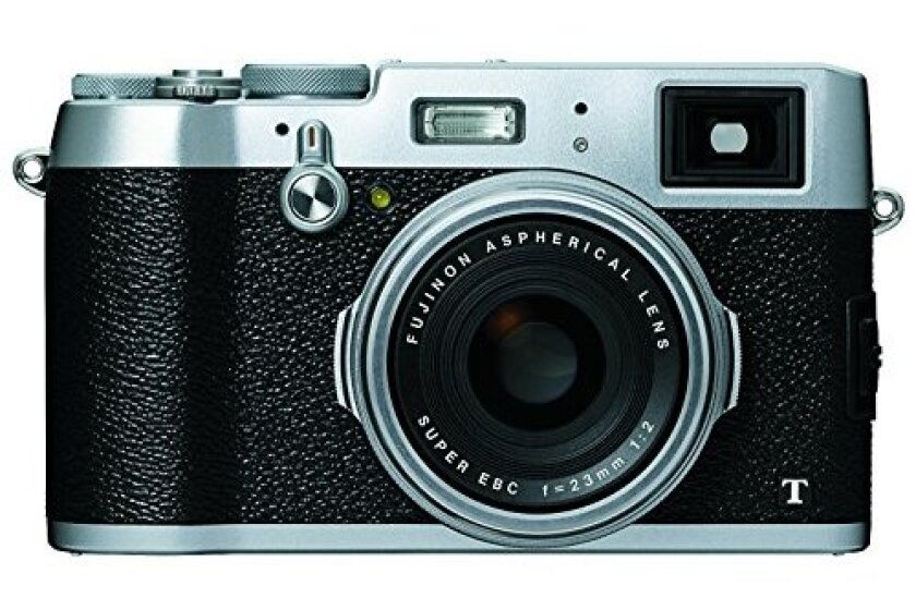 Fujifilm X100T 16 MP Digital Camera (Silver)
