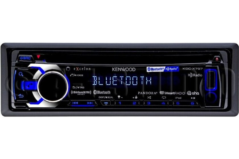 Kenwood KDCX797 eXcelon Single DIN In-Dash Car Stereo Receiver